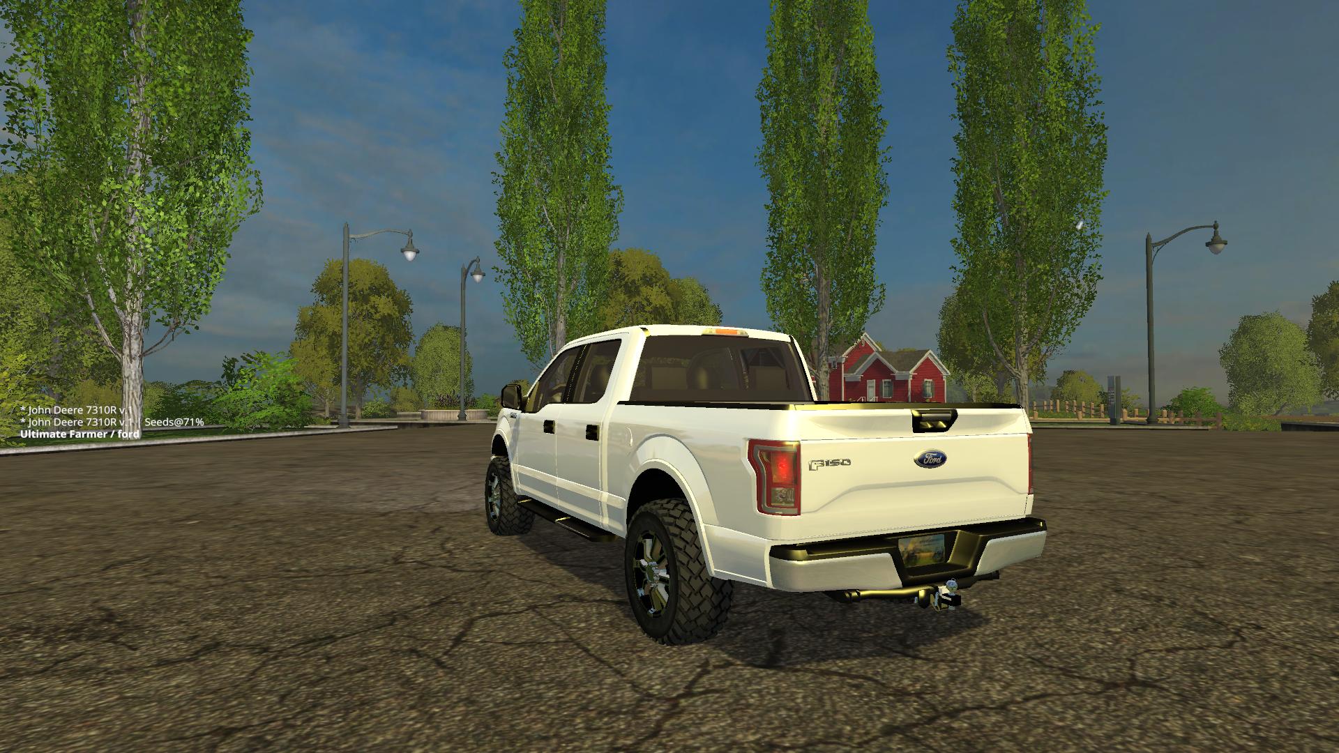 Ford pickup Edit by U F  Car - Farming simulator 2019 / 2017