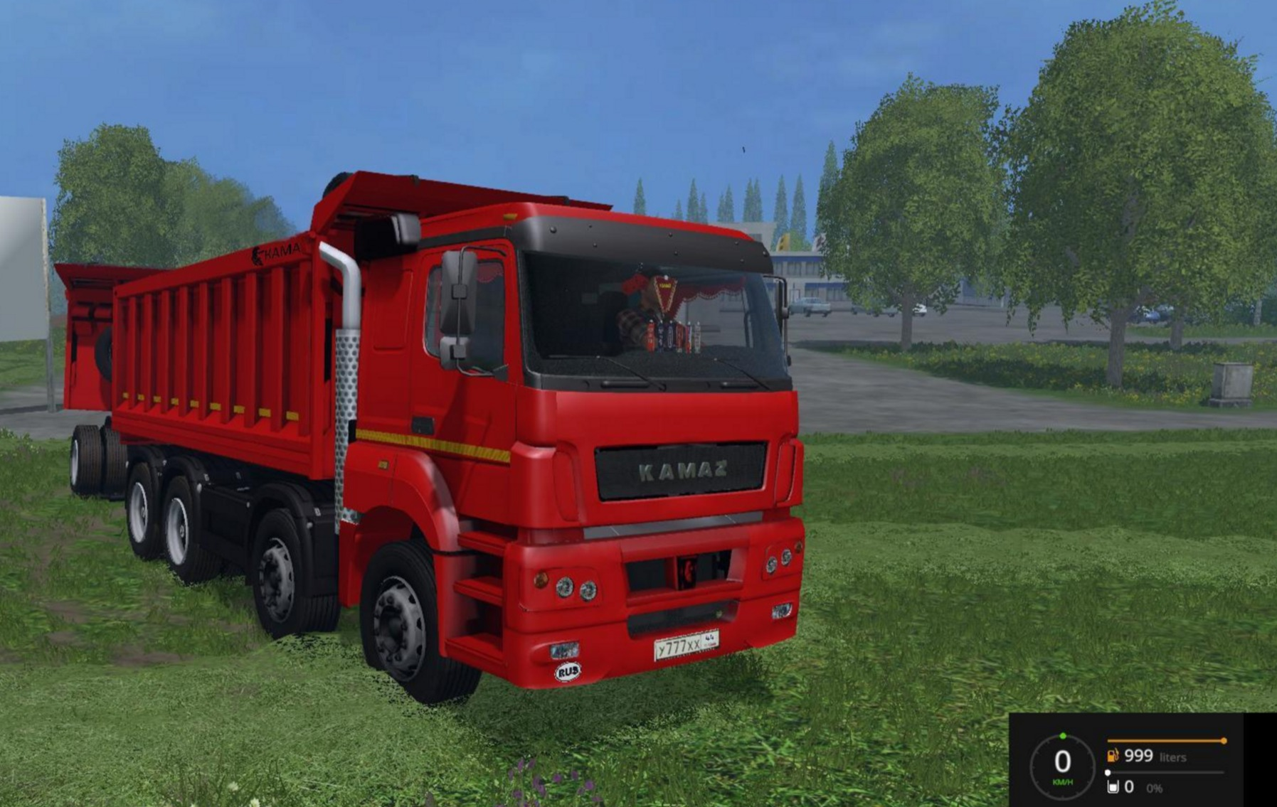 Kamaz 40c Bestlog Truck V2 0 Farming Simulator 2019