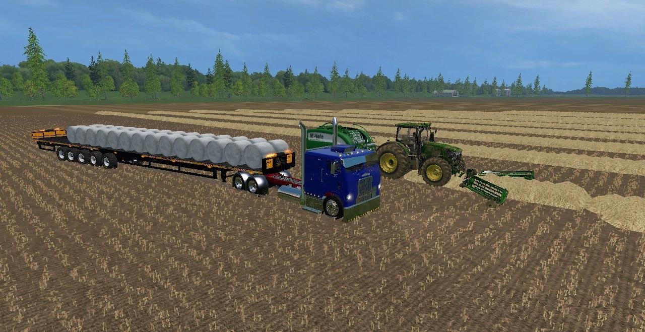 KRONE BALLENGIGANT BALE MOD - Farming simulator 2019 / 2017 / 2015 Mod