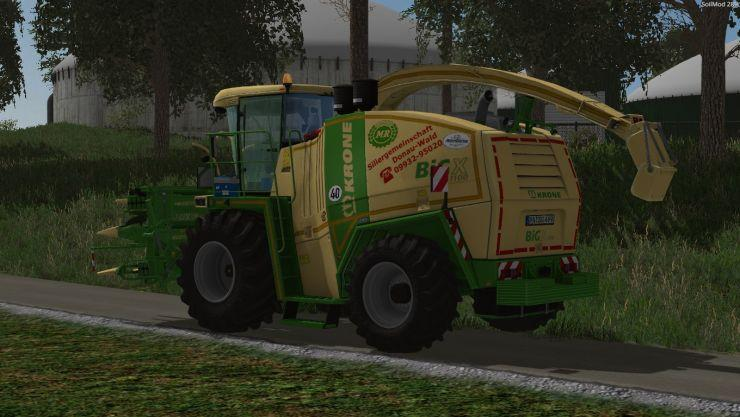 KRONE BIG X 1100 MOUSE CONTROLL LS15