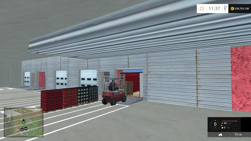 Logistics Center V 2 0 Mod Farming Simulator 2019 2017