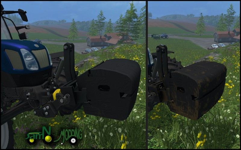 New Holland Weight V 1.0 Mod