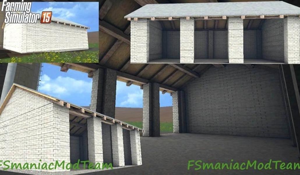 Placeable Garage Object Farming Simulator 2019 2017 2015 Mod