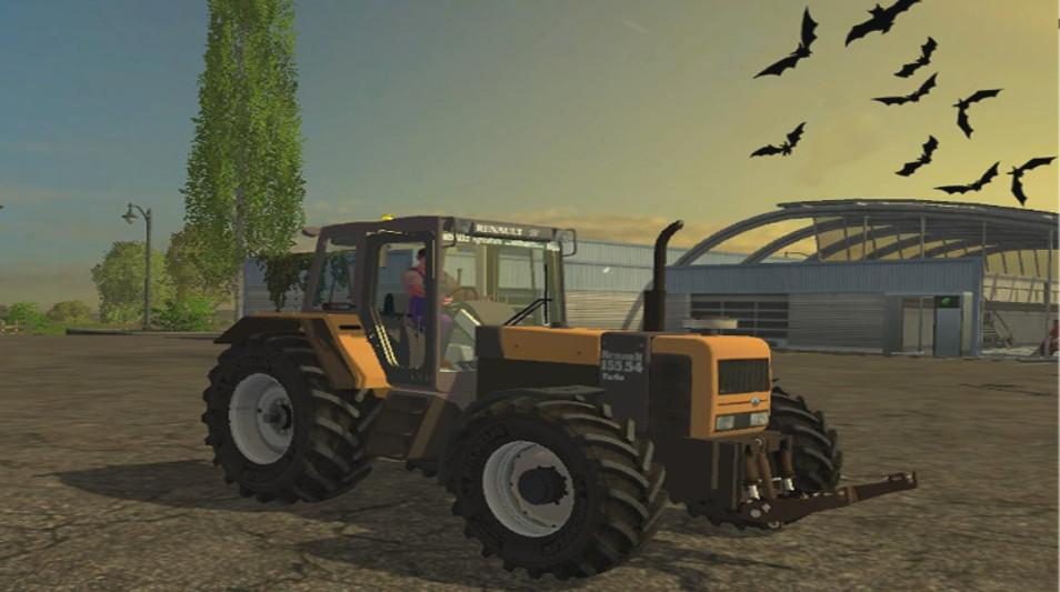 renault 155 z tractor ls 2015 farming simulator 2019 2017 2015 mod. Black Bedroom Furniture Sets. Home Design Ideas