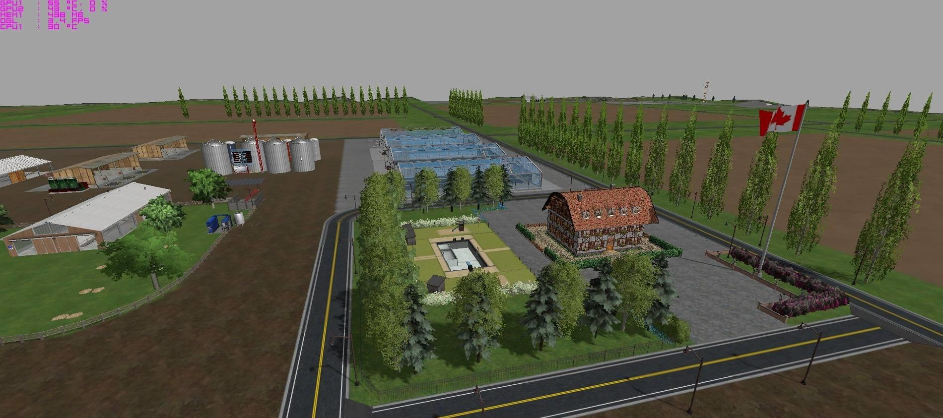 Canadian Map Farming Simulator 2015%0A CANADIAN PRAIRIES MAP V     SOILMOD    LS