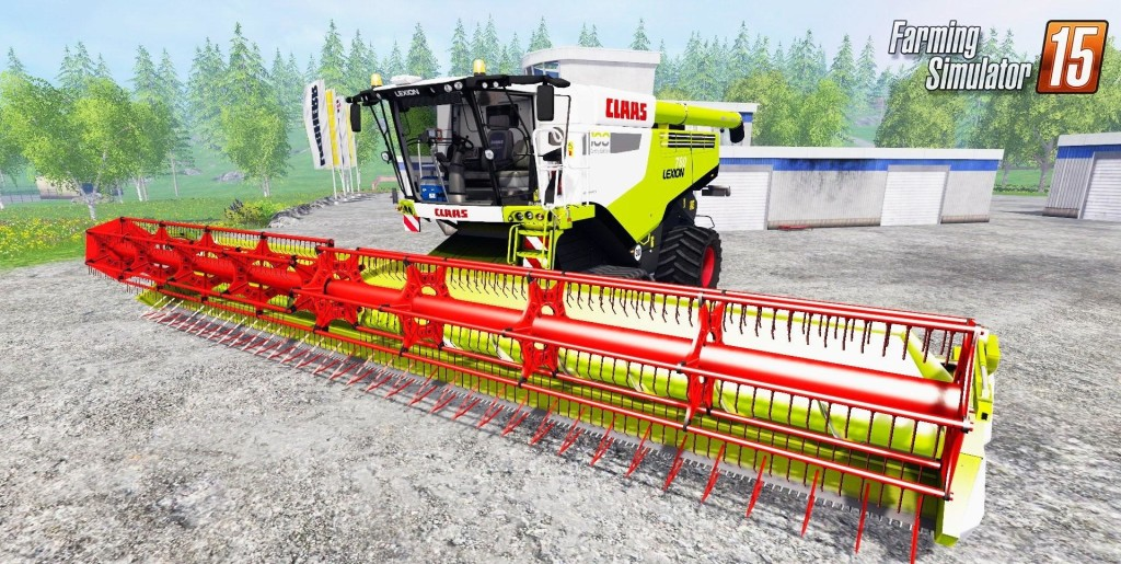 CLAAS LEXION 780 V 2.5 EDIT PAWULON MOD