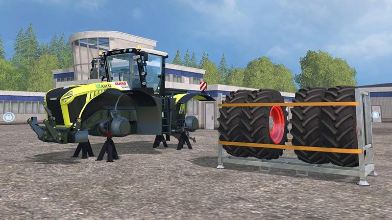 CZMOD CLAAS XERION 4500 TRACTOR V 3.0 MOD