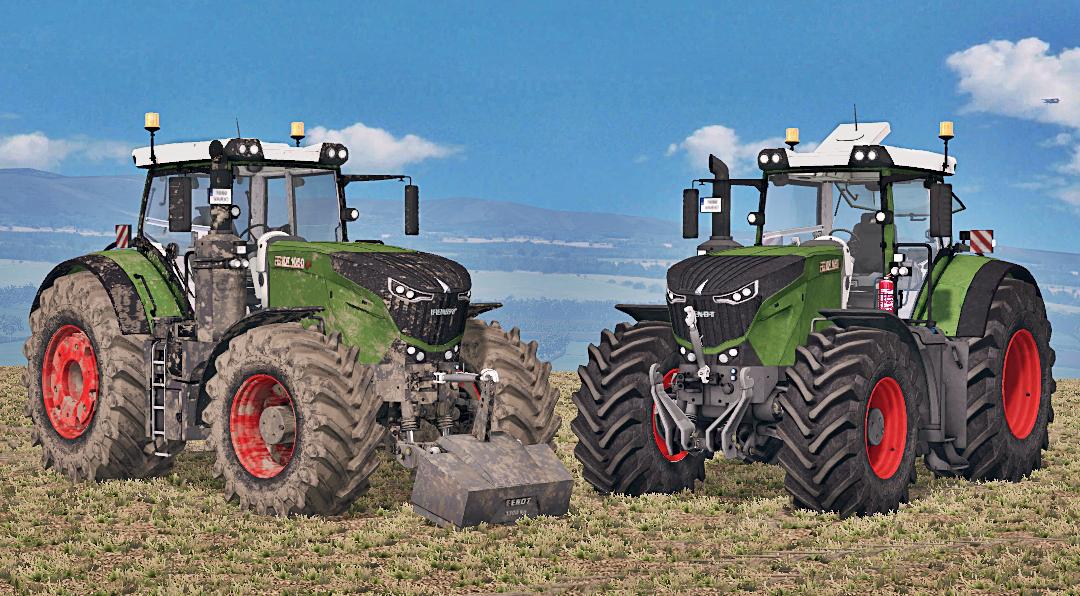 Fendt 1050 Vario Washable Tractor   17    15 Mod