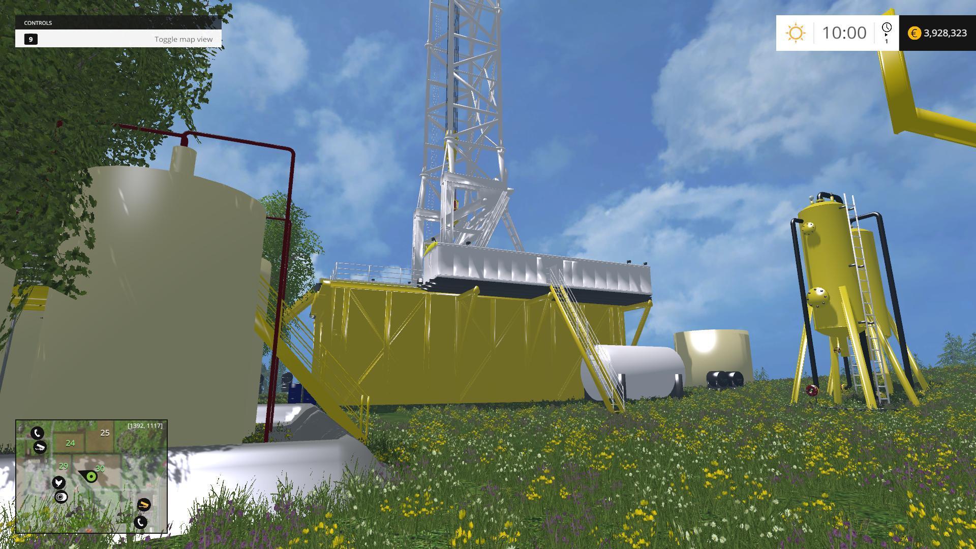 PLACEABLE RIG V1.0 MOD - Farming simulator 2019 / 2017 ...