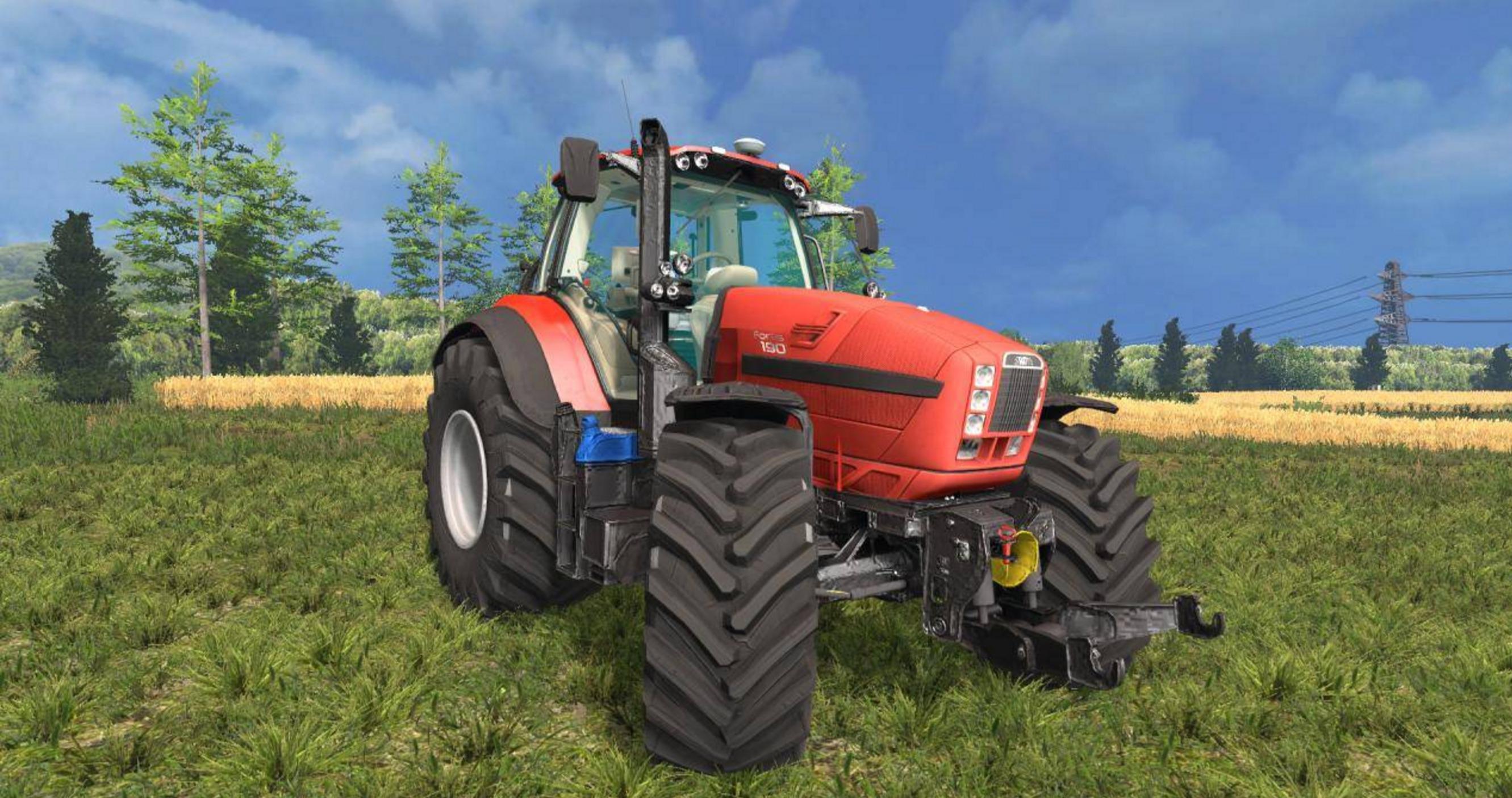 ... Fortis 190 Tractor - Farming simulator 2017 / 2015   15 / 17 LS mod: www.farming2015mods.com/farming-simulator-2015/tractors/same-fortis...