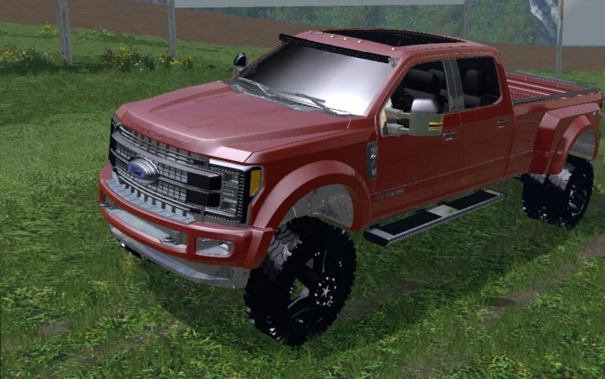 2017 Ford F 450 Platinum V2 Fs