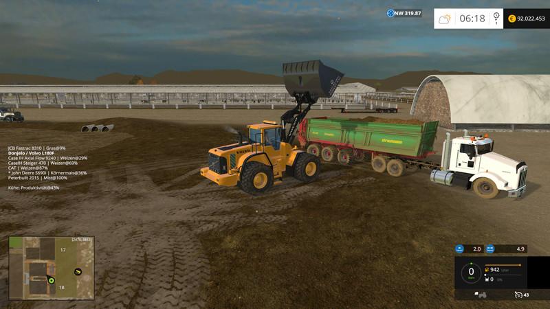 California Central Valley Map V 3 0 - Farming simulator 2019