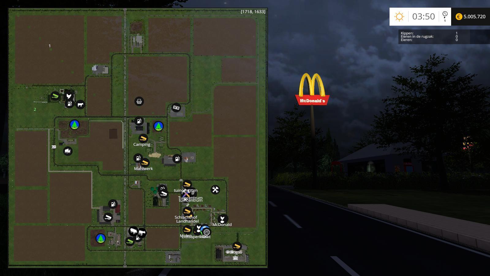 FARM PLACE V10 MAP FARM PLACE V10 MAP