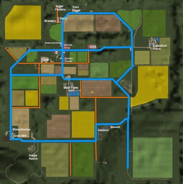 IDAHO USA SMG MF MAP V Ls Farming Simulator - Idaho on map of usa