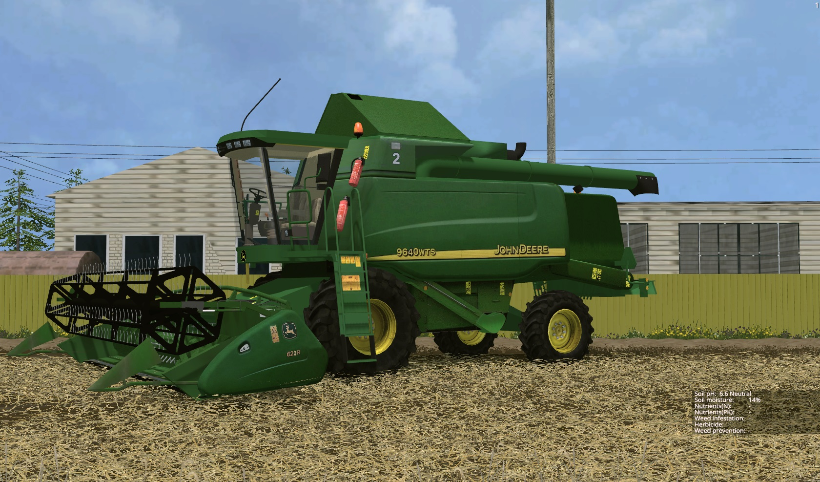 John deere 9640WTS V 2.1 Combine - Farming simulator 2017 ...