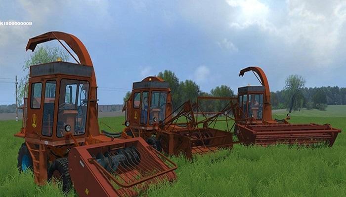 Forage Harvester - Farming simulator 2019 / 2017 / 2015 Mods