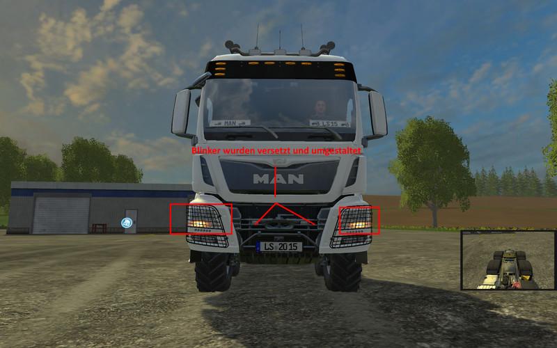 MAN TGS 41570 8x8 heavy duty agricultural Truck V 3 0