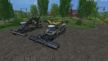 MARINE CAMOGRIMME MAXTRON 620 + GRIMME TECTRON 415 BY EAGLE355TH COMBINE (1)