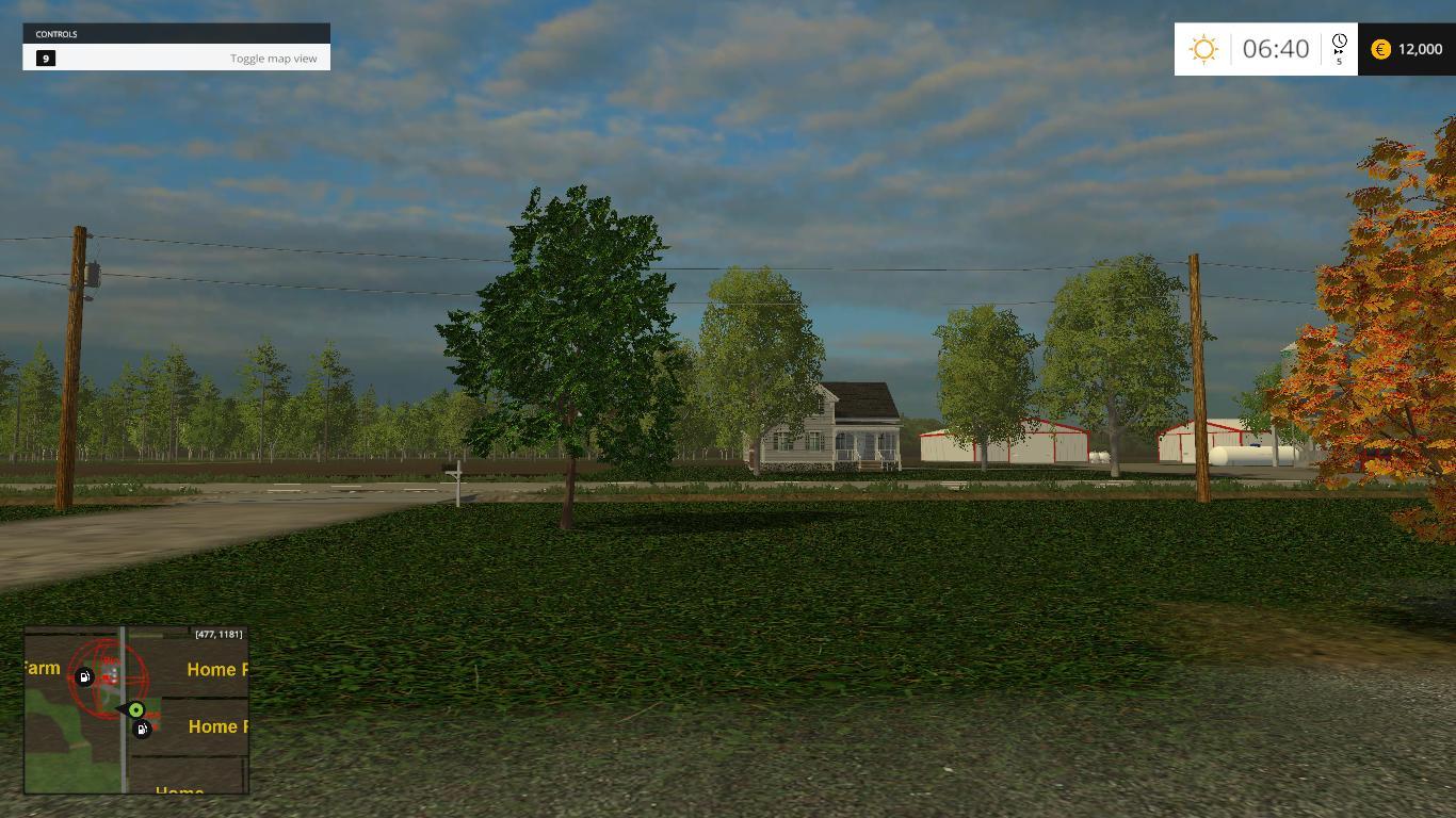 NORTHEST OHIO MAP V Farming Simulator LS Mod - North west ohio map