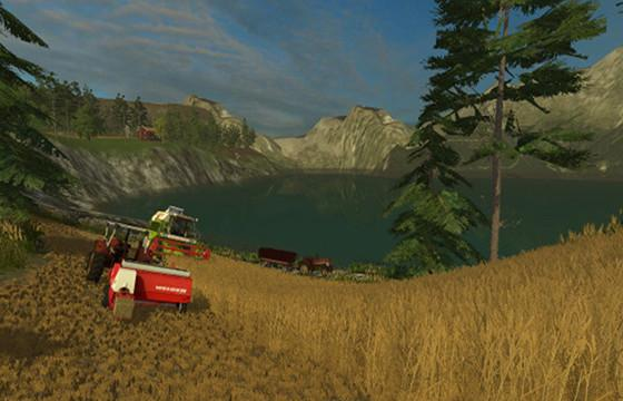 SOUTHERN NORWAY FIXED MAP LS Farming Simulator - Norway map farming simulator 2015