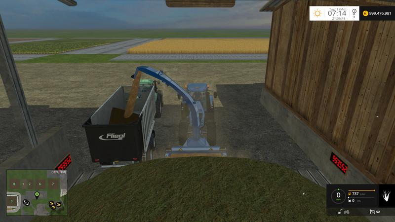 Silage cutter V 4 0 FS15 - Farming simulator 2019 / 2017 / 2015 Mod