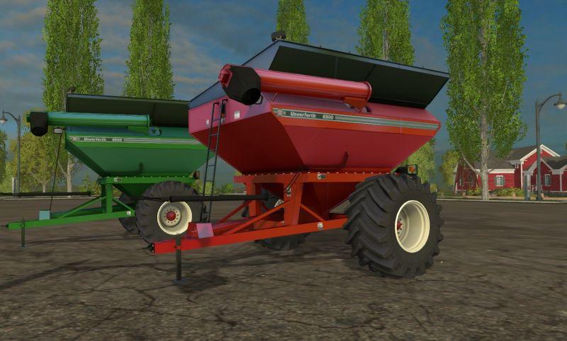 UNVERFERTH 6500 GRAIN CART TRAILER - Farming simulator 2019 / 2017