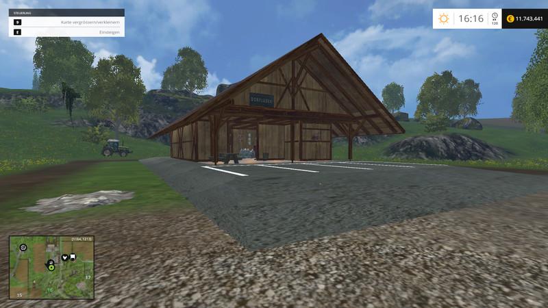 Village Shop With Building Function V 1 Ls15 Farming Simulator 2017 Mods