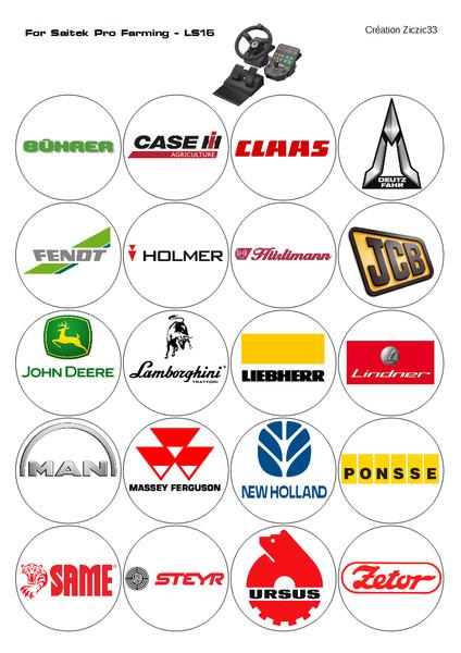 20 logos agricole V 1.1 Mod