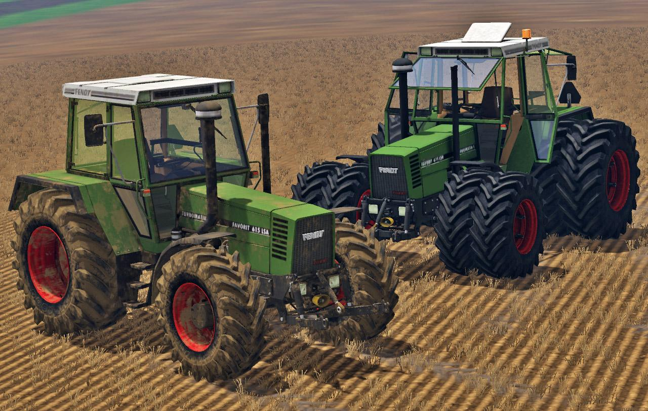 Fendt Favorit 615 Lsa V2 0 Fs15 Farming Simulator 2019