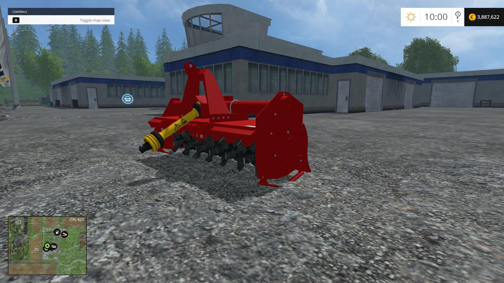 FRESA SICMA ST - CULTIVATORE V1 MOD - Farming simulator 2019