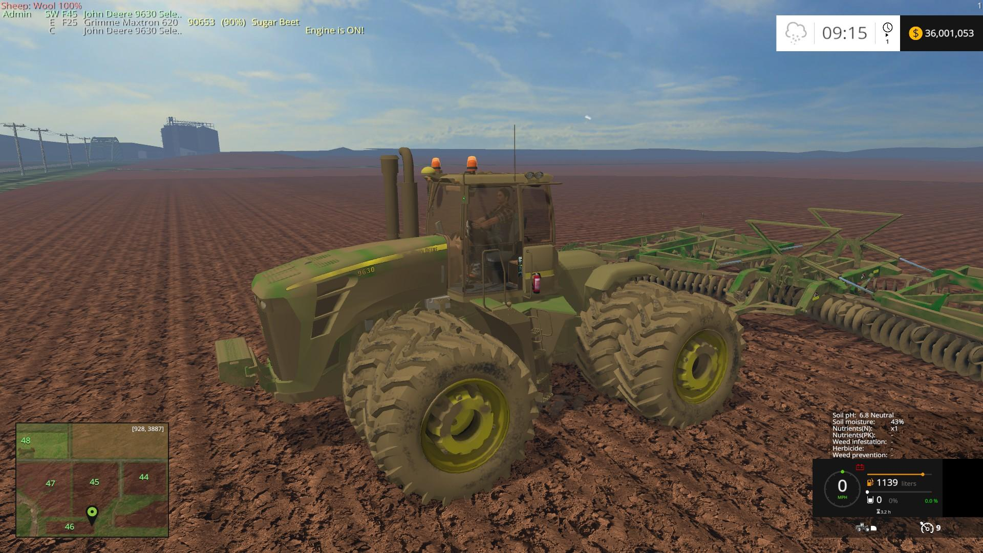 Jd Selectable V Tractor