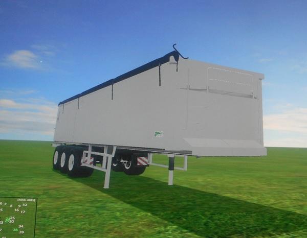 Kroger Agroliner SRB35 modified for PV15 Trailer