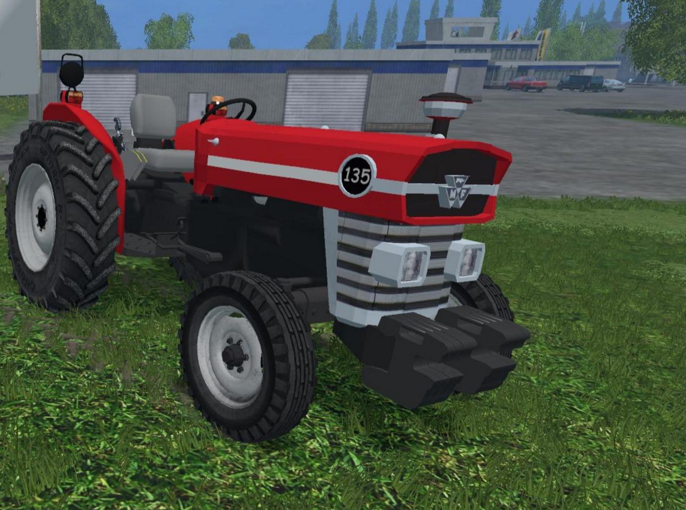 massey ferguson 135 final tractor farming simulator 2019. Black Bedroom Furniture Sets. Home Design Ideas