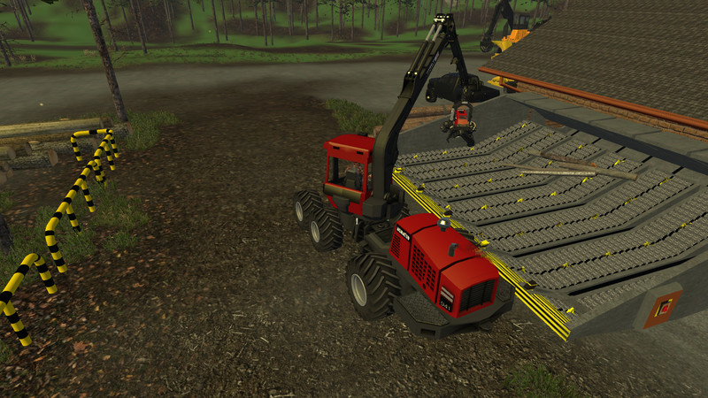 Manual Cutting for Wood Harvester V 1 0 Script - Farming simulator
