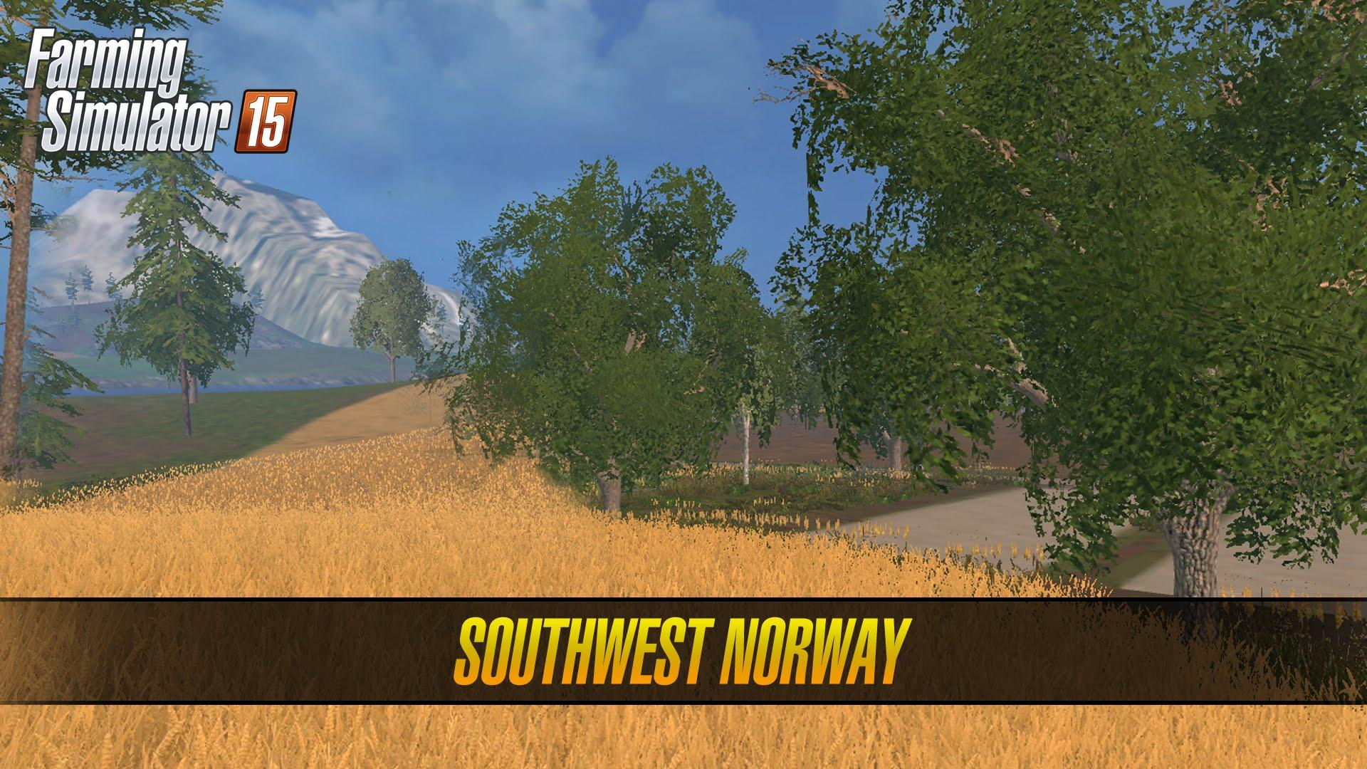 SOUTHWEST NORWAY MAP V LS Farming Simulator - Norway map farming simulator 2015