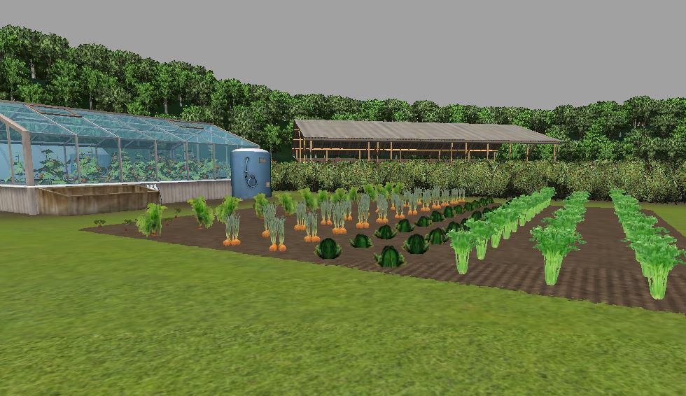 Veggie Garden Diffuse Mod Farming Simulator 2017 2015