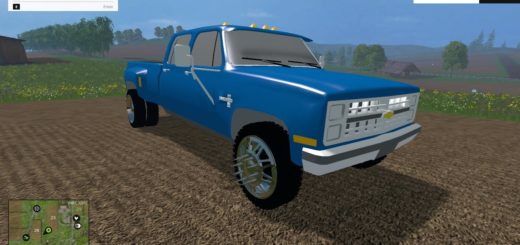 CHEVY SQUAREBODY DUALLY FS 2015 (2)