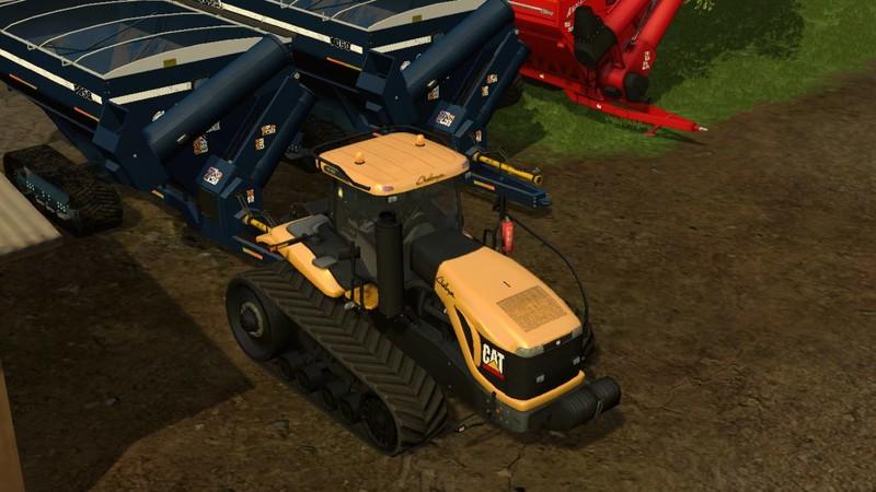 Cat Challenger MT865B V 1 1 beta FS15 - Farming simulator