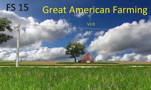 FS Great American Farming V Map Farming Simulator - Fs15 us maps