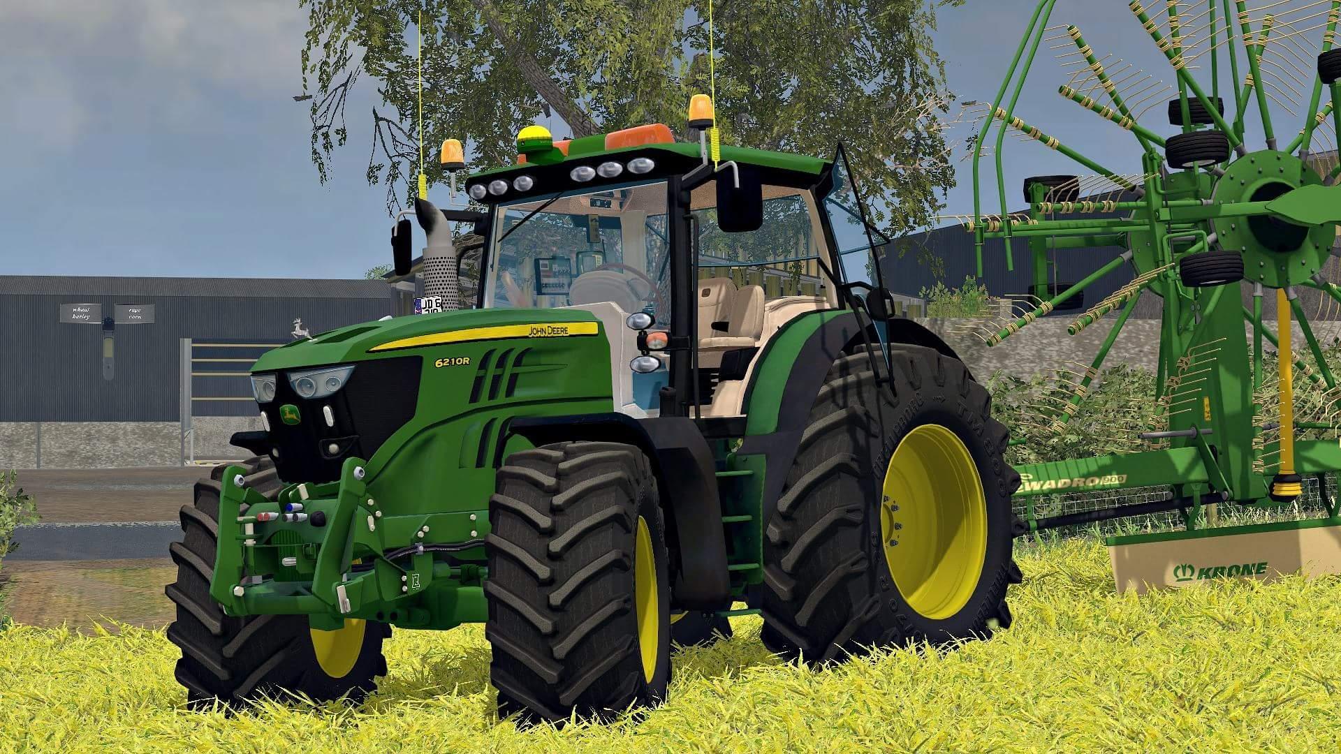 John Deere 6210r V2 Tractor Farming Simulator 2019