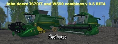 JOHN DEERE T670TT I W550 V 0.5 BETA FS 205