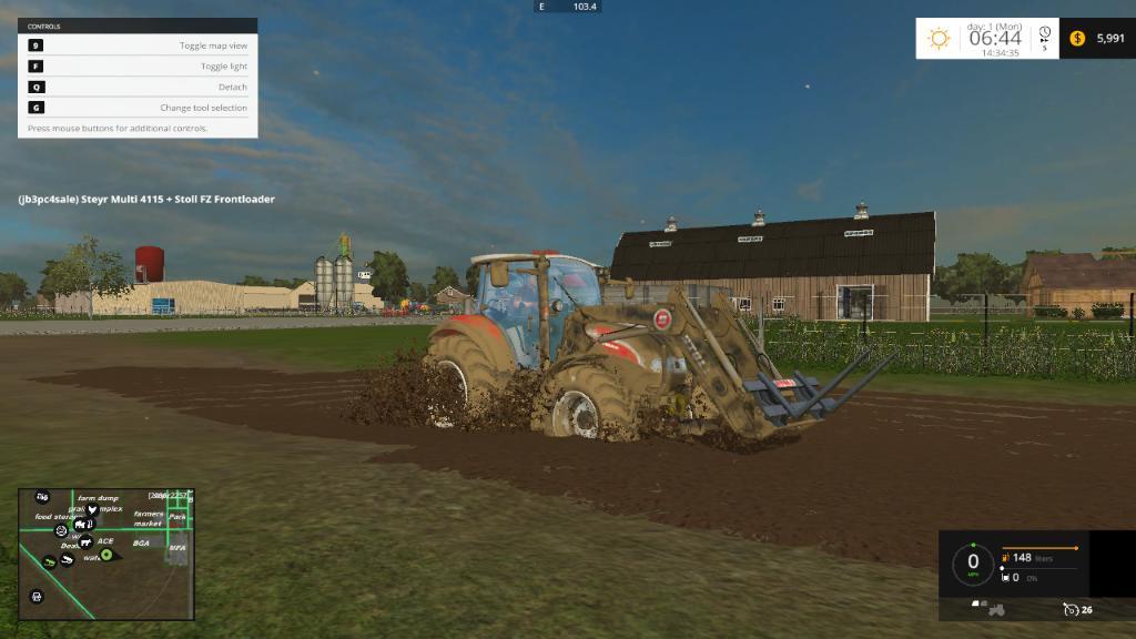 MISSOURI RIVER BOTTOMS USA BETA MAP FS Farming Simulator - Farming simulator 2015 us map feed cows