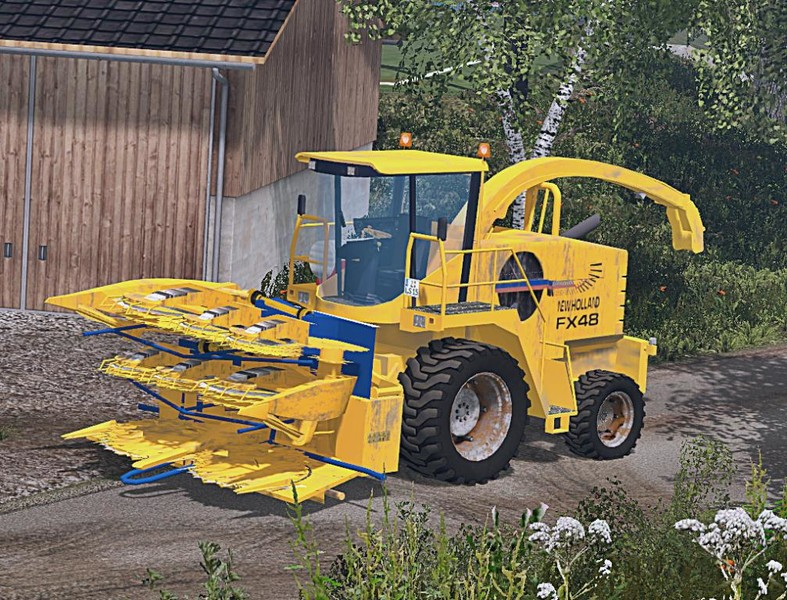 New Holland Fx48 V 1 1 Combine Farming Simulator 2019