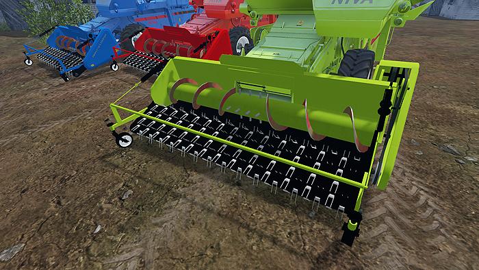 RSM NH FORAGE PICKUP CUTTER - Farming simulator 2019 / 2017 / 2015 Mod