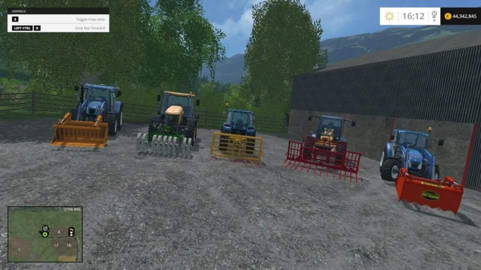 SILAGE EQUIPMENT V1 1 FS 2015 - Farming simulator 2019