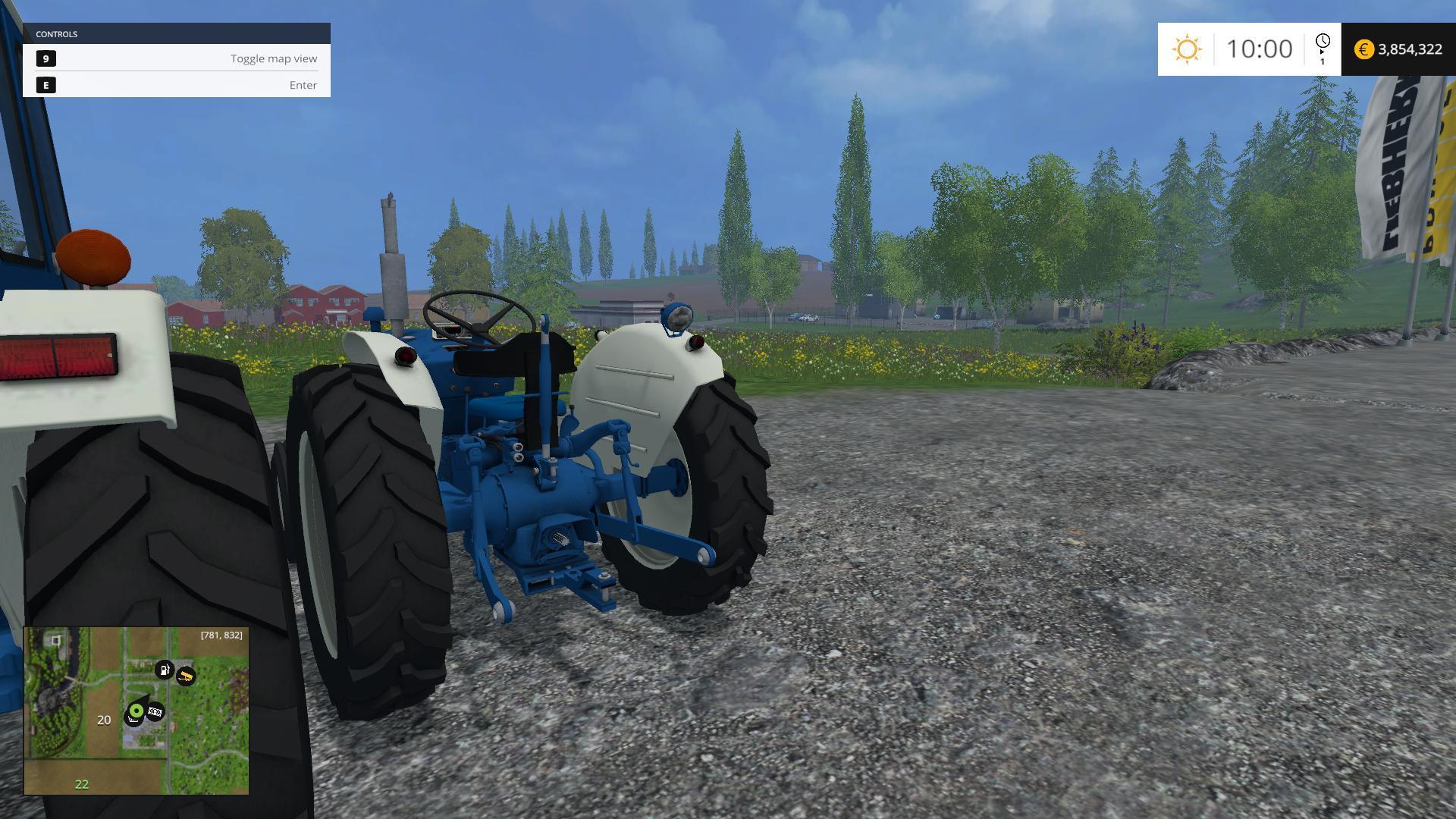 farming simulator 2017 how to buy tractors