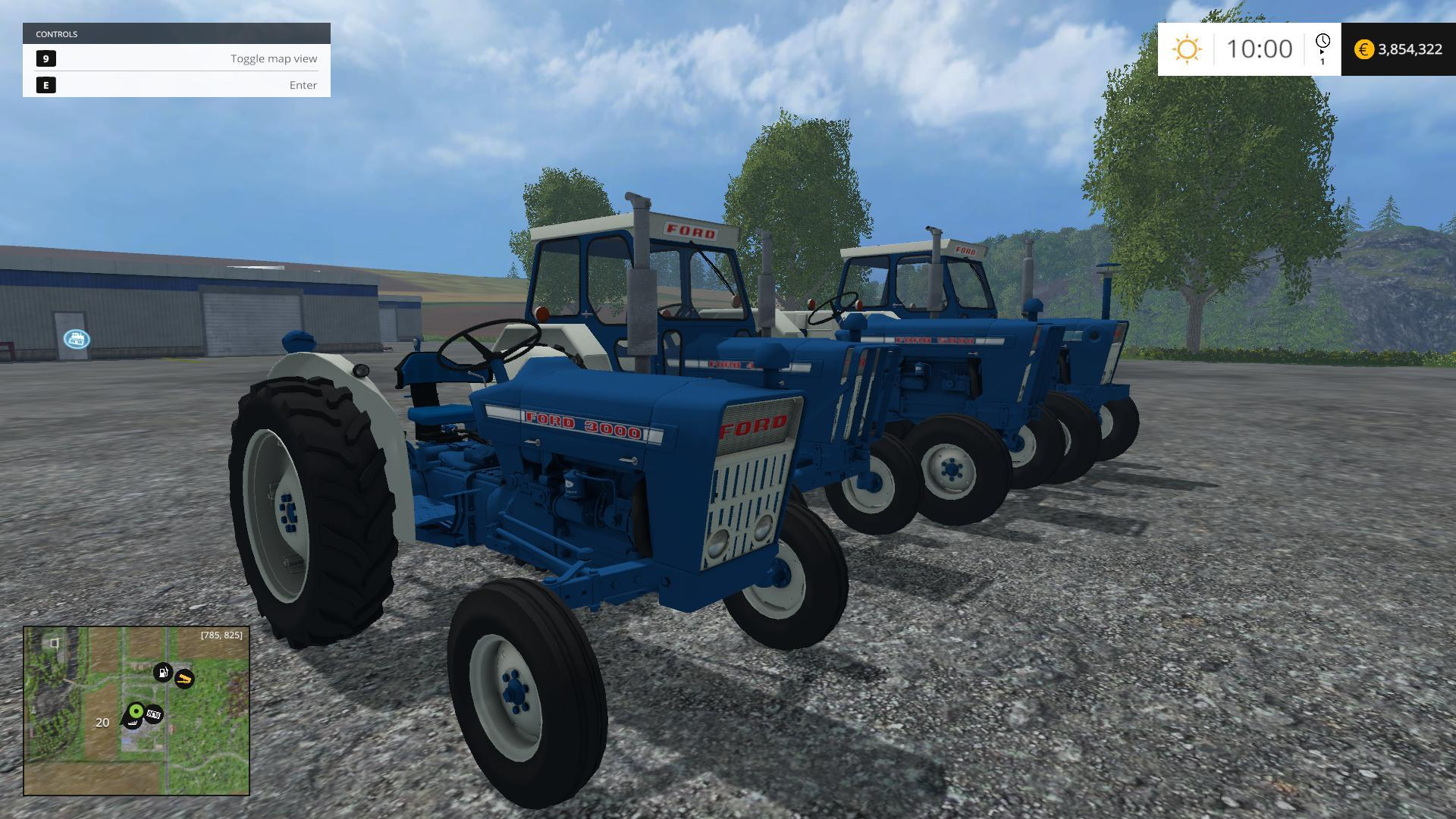 FORD FORCES V1 0 TRACTOR - Farming simulator 2019 / 2017