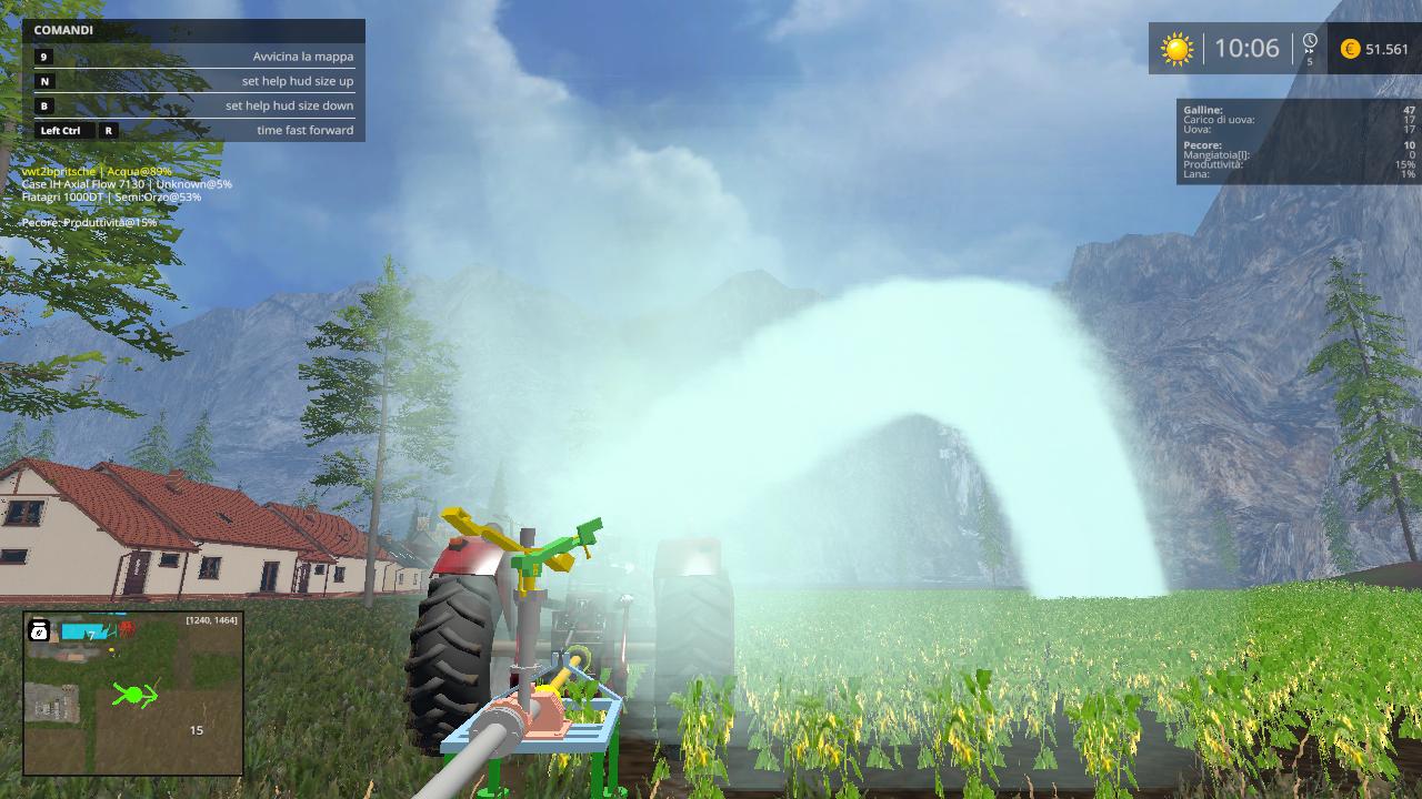 Farming Simulator 15: Irrigazione Pack Beta - Farming