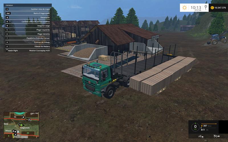 Fliegl Universal Semitrailer autoload V 1 3 Trailer - Farming