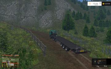 Fliegl Universal Semitrailer autoload V 1.3 Trailer (2)